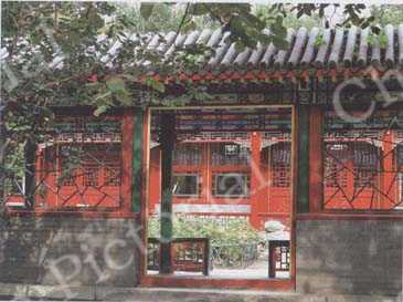 The Garden of Prince Gong's Mansion. by Wang Xiaoming/CFP