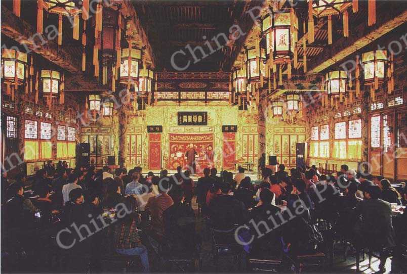 The Grand Theater inside Prince Gong's Mansion. CFP