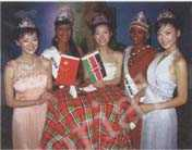 Three Miss Chinese Comos Pageant 2006, together with Miss World Kenya and Miss Tourism Kenya, attend the launch ceremony as Kenya Tourism Image Ambassadors.